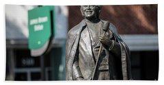 James Brown Statue - Augusta Ga Hand Towel