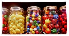 Bath Towel featuring the photograph Jaw Breakers by Joan Reese