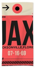 Jax Jacksonville Luggage Tag I Bath Towel