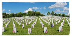 Jefferson Barracks National Cemetery Hand Towel
