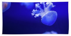 Jelly Fish At The Oceanographic Museum Of Monaco Jacques Cousteau Museum Hand Towel
