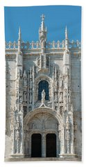 Jeronimos Monastery, Portugal Bath Towel
