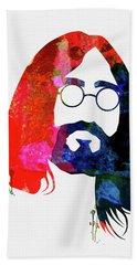 John Watercolor Hand Towel