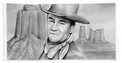 John Wayne 07oct18 Hand Towel