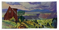 Journey Along The Road To Infinity Bath Towel