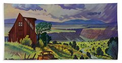 Journey Along The Road To Infinity Hand Towel