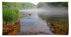June Morning Mist Bath Towel
