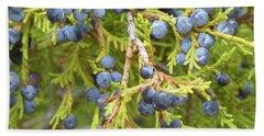 Juniper Berries Bath Towel