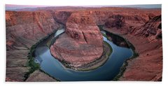 Just A Bend In The River Bath Towel