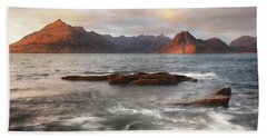 Late Afternoon - Elgol Hand Towel