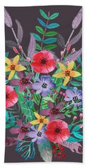 Just Flora II Hand Towel