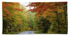 Kancamagus Highway Bath Towel