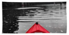 Kayaking The Occoquan Bath Towel
