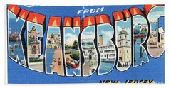 Keansburg Greetings Bath Towel