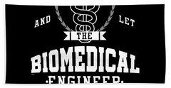 Keep Calm Biomedical Engineer Biology Science Profession Gifts Bath Towel