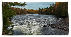 Kennebec River Bath Towel