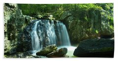 Kilgore Falls In Summer Bath Towel
