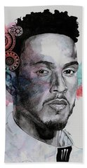 King Hammer - Tribute To Lewis Hamilton Hand Towel