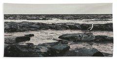 Kings Beach Rocky Panoramic Bath Towel