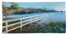 Kingsville Farm And Fence Hand Towel