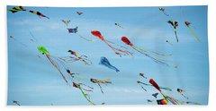 Kites Kites Kites Hand Towel