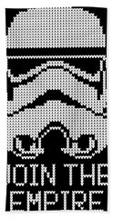 Knitted Storm Trooper - Join The Empire Bath Towel