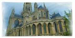 La Cathedrale De Bayeux Bath Towel