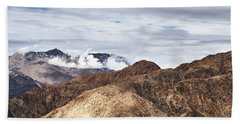 Bath Towel featuring the photograph Ladakh Peaks by Whitney Goodey