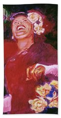 Lady Day - Billie Holliday Hand Towel