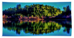Lake Double Reflection Bath Towel