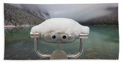 Lake Louise Martian Hand Towel