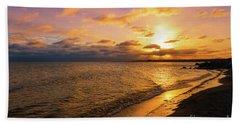 Lake Ontario Colorful Dawn Hand Towel
