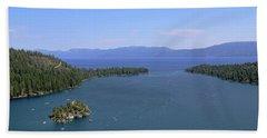 Lake Tahoe - Emerald Bay Hand Towel