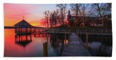 Lake Winnipesaukee Sunrise Hand Towel