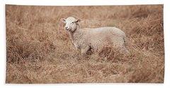Lamb Hand Towel