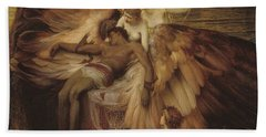 Lament Of Icarus Bath Towel
