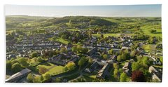 Lampeter From The Air Hand Towel