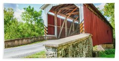 Lancaster Covered Bridge Hand Towel