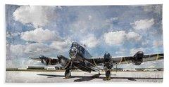 Lancaster Engine Test 2 Hand Towel