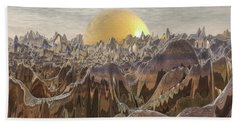 Land Of The Golden Orb Hand Towel