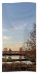 Bath Towel featuring the photograph Landscape Scenery by Anjo Ten Kate