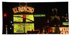 Las Vegas 1984 #13 Bath Towel