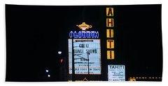 Las Vegas 1984 #4 Bath Towel