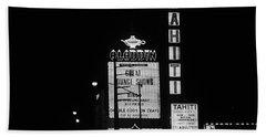 Las Vegas 1984 Bw #4 Bath Towel
