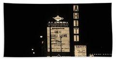 Las Vegas 1984 Sepia #4 Bath Towel
