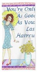 Last Haircut Hand Towel