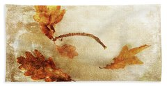 Hand Towel featuring the photograph Late Late Fall by Randi Grace Nilsberg