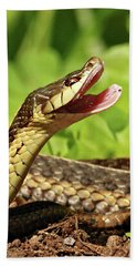 Laughing Snake Hand Towel