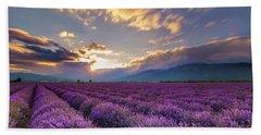 Lavender Sun Hand Towel