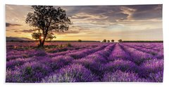 Lavender Sunrise Hand Towel